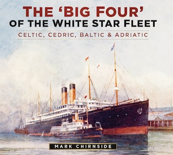 Olympic Titanic Britannic An Illustrated History of the 'Olympic' Class Ships by Mark Chirnside