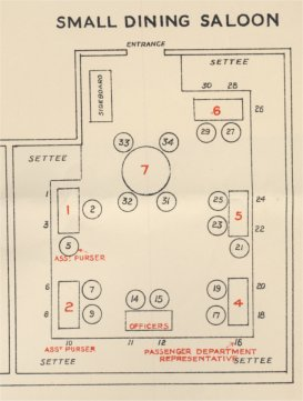 homeric small dining saloon plan