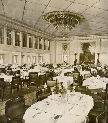 rms homeric dining saloon